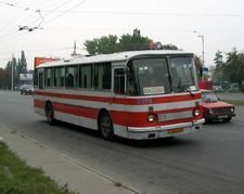 ЛАЗ-699Р на маршруте № 82
